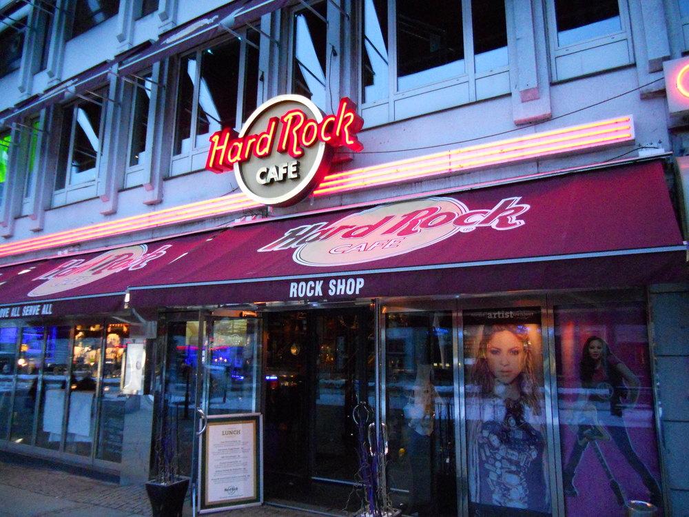 hard rock cafe göteborg